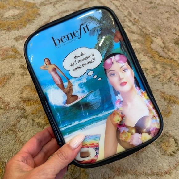 Benefit Cosmetics Zippered Case